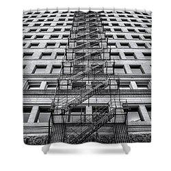 Escape Shower Curtain by Scott Norris