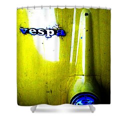 esp Shower Curtain by Newel Hunter