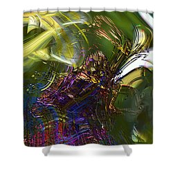 Esprit Du Jardin Shower Curtain by Richard Thomas