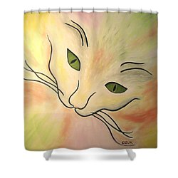Essence Of Cat Shower Curtain