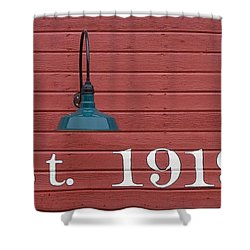 Est 1919 Shower Curtain