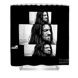Estas Tonne's Face Shower Curtain