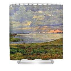 Estuary Polovinka Shower Curtain