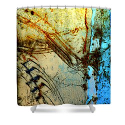 Etched In Time Shower Curtain by Lauren Leigh Hunter Fine Art Photography