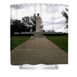 Eternal Light Peace Memorial Shower Curtain