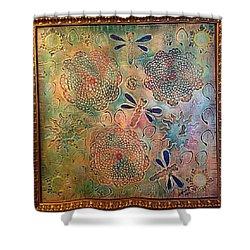 Eternal Sun By Alfredo Garcia  Shower Curtain by Alfredo Garcia