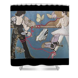 Eternally Yours Shower Curtain