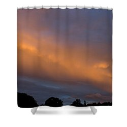 Ethereal Clouds Shower Curtain by Greg Reed
