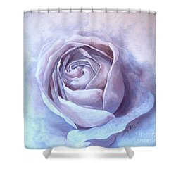 Ethereal Rose Shower Curtain
