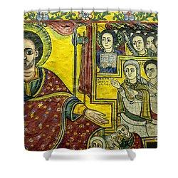 Ethiopian Church Paintings Shower Curtain