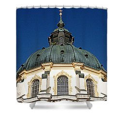 Ettal Abbey Bavaria Shower Curtain by The Creative Minds Art and Photography