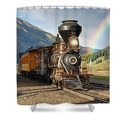 Eureka Rainbow Shower Curtain