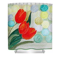 Europa Shower Curtain by Sonali Gangane