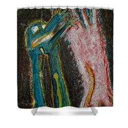 Eve Shower Curtain by Nancy Mauerman