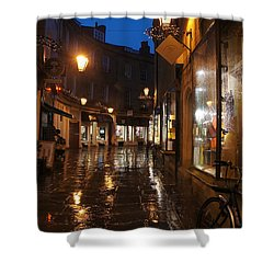 Evening After The Rain Shower Curtain