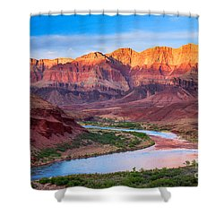 Evening At Cardenas Shower Curtain by Inge Johnsson
