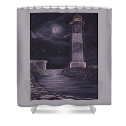 Evening At Point Lookout Shower Curtain