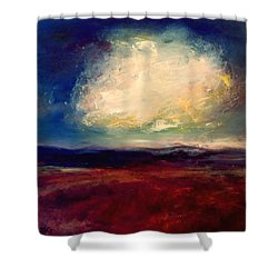 Evening Cloud Shower Curtain