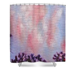 Evening Clouds Shower Curtain by Jason Williamson