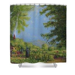 Evening In The Shire. Shower Curtain by Joe  Gilronan