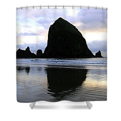 Evening Luster Shower Curtain