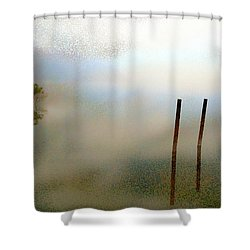 Evening Shower Curtain by Eye Browses