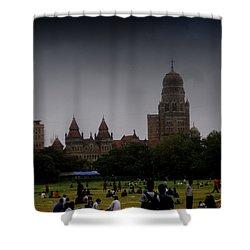 Shower Curtain featuring the photograph Evening by Salman Ravish