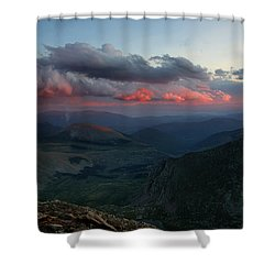 Evening Shade Shower Curtain by Jim Garrison