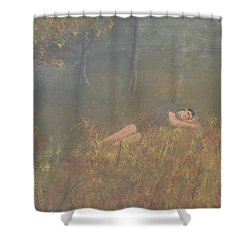Evening Slumber Shower Curtain by Tim Townsend