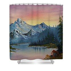 Evening Splendor Shower Curtain by C Steele