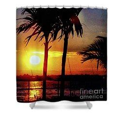 Evening Surf Shower Curtain
