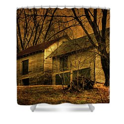Evening Twilight Fades Away Shower Curtain by Lois Bryan