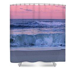Evening Waves - Jersey Shore Shower Curtain