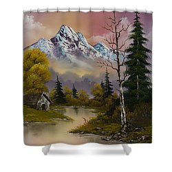 Evening's Delight Shower Curtain by C Steele