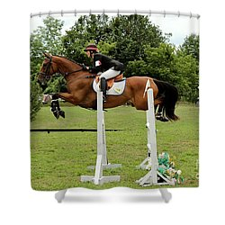 Eventing Jumper Shower Curtain