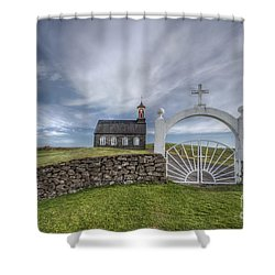 Ever Enchanted Shower Curtain by Evelina Kremsdorf