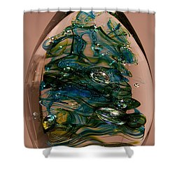Evergreen Shower Curtain by David Patterson