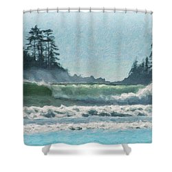 Everlasting Surf Shower Curtain