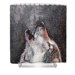 Every Breath I Take Shower Curtain
