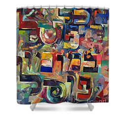 Everyone That Discounts Another It Is With His Own Fault That He Discounts The Other Shower Curtain by David Baruch Wolk
