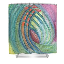 Everything And Nothing Shower Curtain by Kelly K H B
