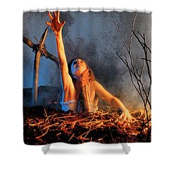 Evil Dead Shower Curtain