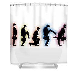 Evolution Shower Curtain by Tony Rubino