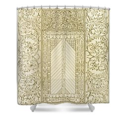 Example Of A Turkish Chimney Shower Curtain by Jean Francois Albanis de Beaumont