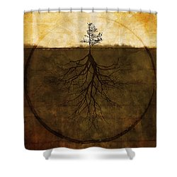 Exemplar Shower Curtain by Brett Pfister