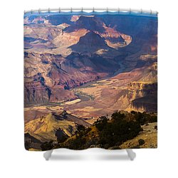 Expanse At Desert View Shower Curtain