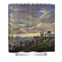 Expecting Rain Shower Curtain