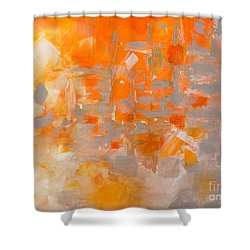 Explode Shower Curtain