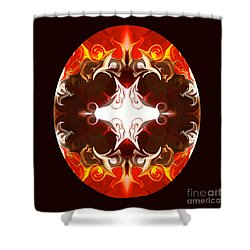 Exploding Consciousness Abstract Mandala Artwork By Omaste Witkowski Shower Curtain by Omaste Witkowski
