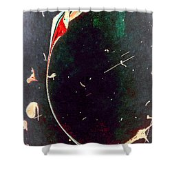 Shower Curtain featuring the painting Exploring New Depths by Jacqueline McReynolds